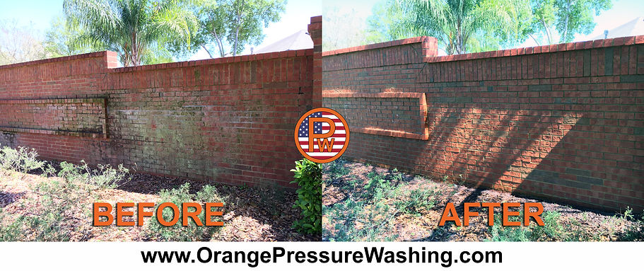 Fence Cleaning Pressure Washing Orlando 407.452.9397