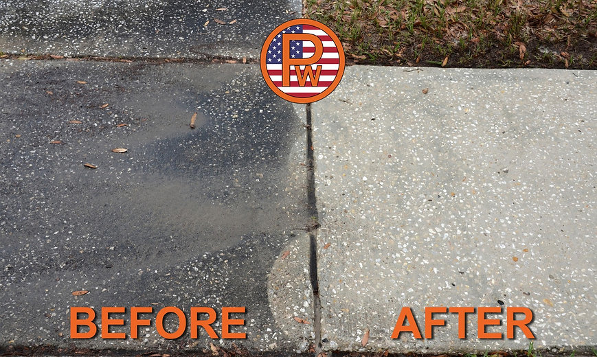 Concrete Cleaning Orlando, Central Florida 407 334 0063