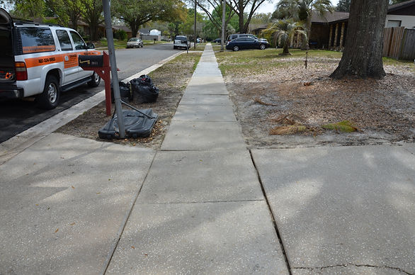 Sidewalk Cleaning Pressure Washing Orlando 407.452.9397