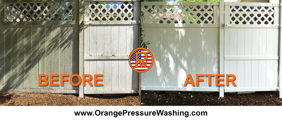 Fence Cleaning Orlando, Longwood, Florida 407 334 0063