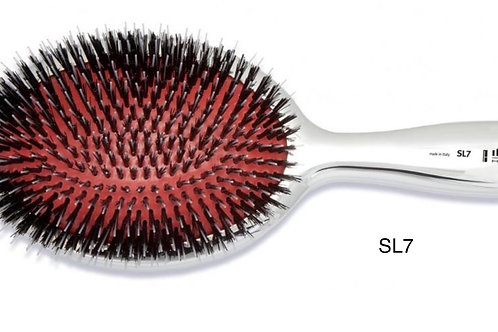 Ibiza SL7 Silver Oval Flatbrush