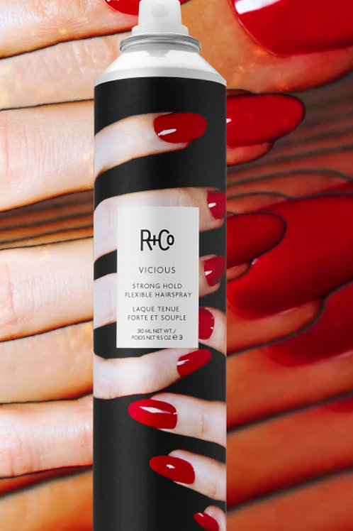R+Co Vicious Strong Hold Hairspray