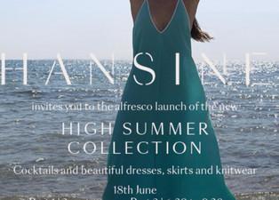 INVITATION - HANSINE'S SUMMER LAUNCH