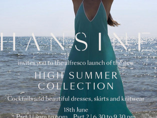 INVITATION - HANSINE'S SUMMER LAUNCH