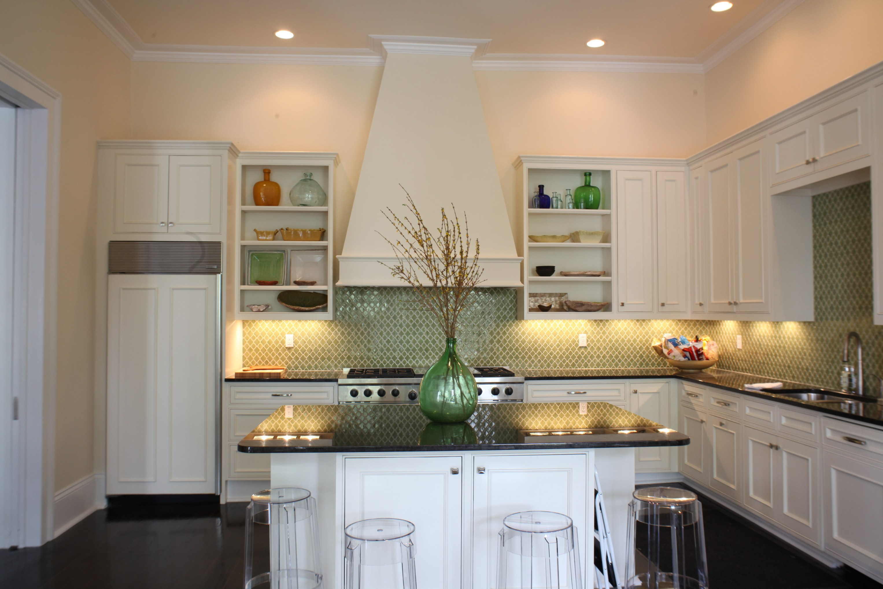 Custom Kitchens Bookcases New Orleans Cabinets Renovations