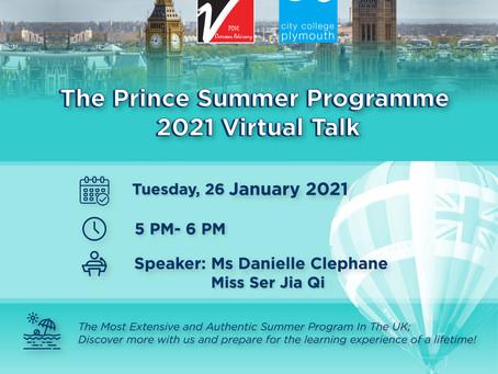 【2021英國皇家夏令營】線上說明會