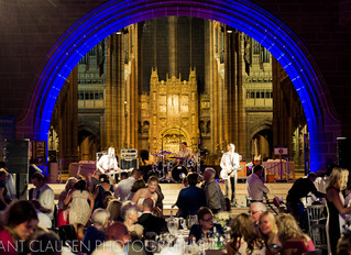 Madison Play At Liverpool's Anglican Cathedral
