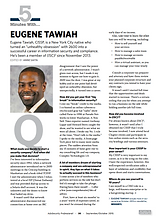 ISC2 InfoSec Magazine October 2015 with Eugene Tawiah