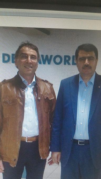 vassip sahin former governor of istanbul new governor of ankara at dentaworld dental hospital