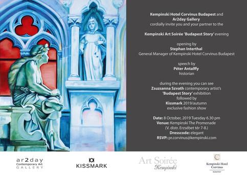 OCTOBER 2019 / KEMPINSKI ART SOIRÉE, ZSUZSA SZVATH: BUDAPEST STORY