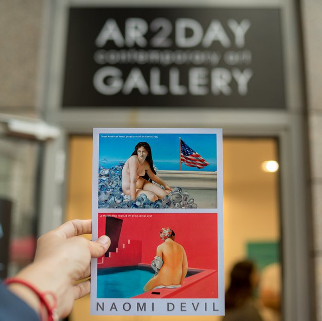 MAY 2018 /AR2DAY GALLERY EXHIBITION, NAOMI DEVIL: SUMMER IN THE CITY