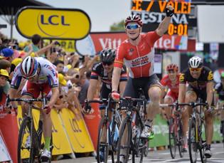 Triplete de Greipel en su Tour de Francia soñado