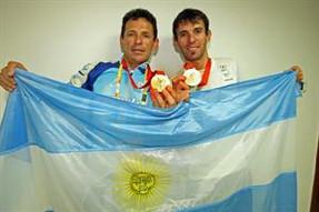 El ciclismo le dio una histórica medalla de oro a la Argentina