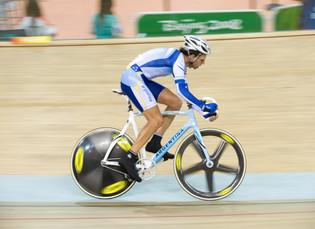 El ciclista Walter Pérez fue elegido abanderado de la delegación argentina que participará en los Ju