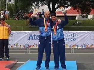 Juegos Parapanamericanos: Villalba-Romero consiguen la medalla de bronce y Mariela Delgado la plata