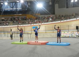 Juegos Parapanamericanos: Mariela Delgado se quedó con la medalla dorada en los 500 mts