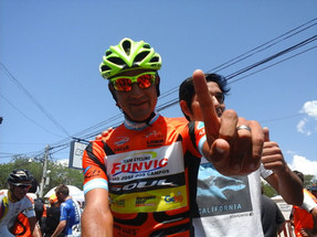 El argentino Daniel Díaz hizo historia en el Tour de San Luis