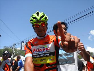 El argentino Daniel Díaz hizo historia en el Tour de San Luis