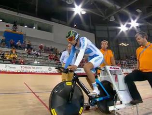Mauro Richeze, con chances de medalla en el Omnium de los Juegos Panamericanos de Toronto 2015