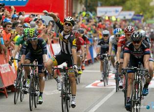 Vuelta a España: Sbaragli gana la décima y Dumoulin sigue líder