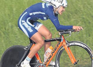 Mariela Delgado, una ciclista que hará historia en Toronto