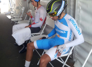 Toronto 2015: Laureano Rosas finalizó sexto en la CRI; también corrieron Alejandro Durán, Cristina G