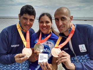 Juegos Parapanamericanos: Medallas de Oro para Mariela Delgado y bronce para Villalba-Romero