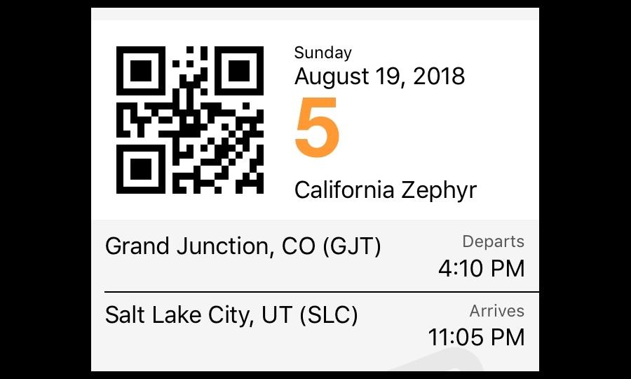 heading to Salt Lake City UT