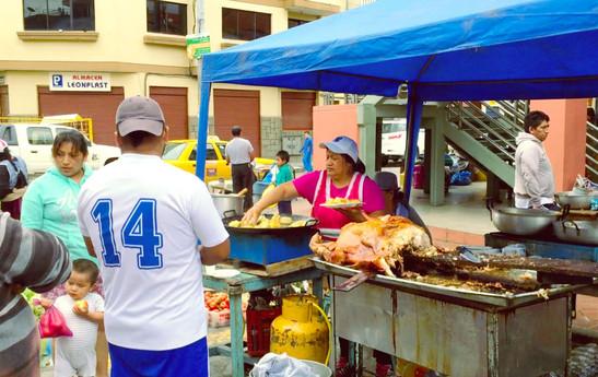 Street pork