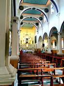 Inside the Turi church