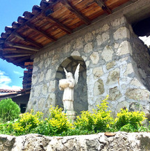 Angel statue in Turi