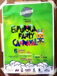 Espuma Party on Friday (Viernes)