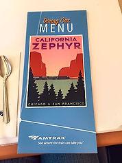 The California Zephyr line still had a d