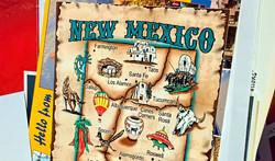 New Mexico Postcard Small