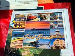 Seal Beach, CA postcard