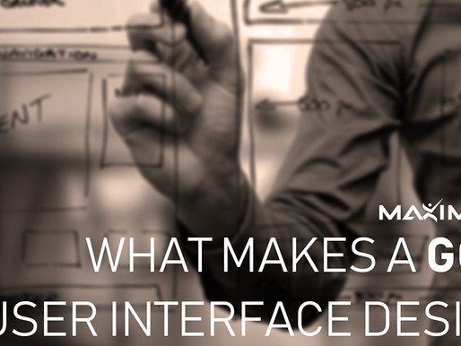 What makes a good user interface design?