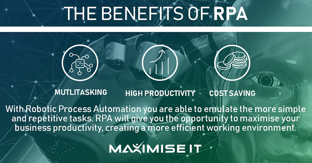 The benefits of using RPA to automate your business