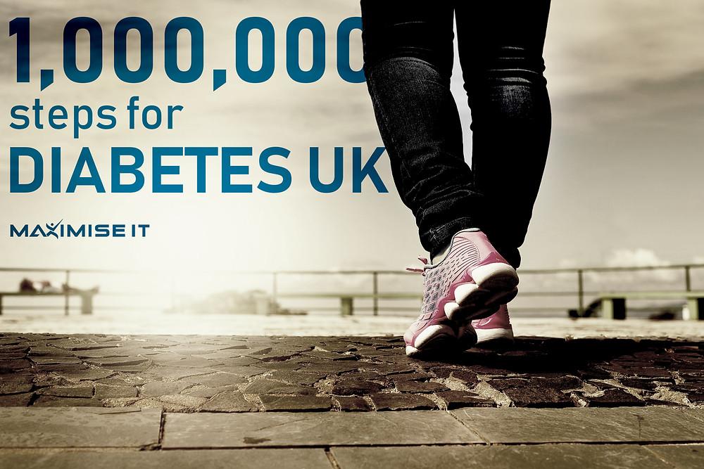 Maximise IT - Daibetes UK banner