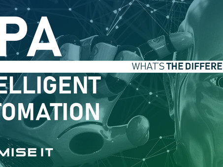 RPA vs. Intelligent Automation.  What's the difference?