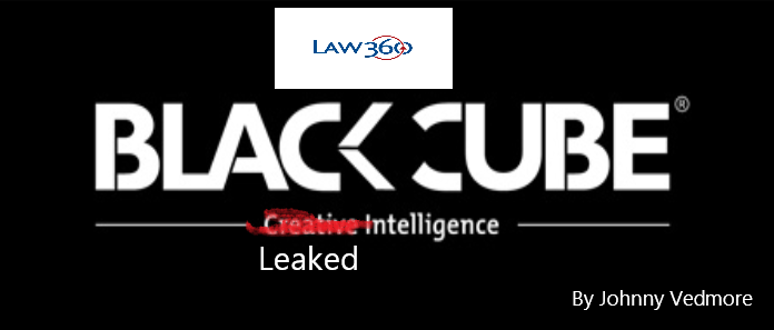 Law360 and Blackcube