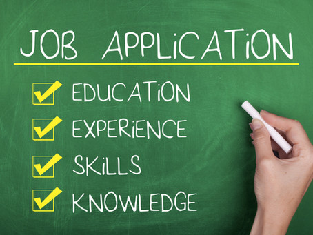3 steps in writing a job application