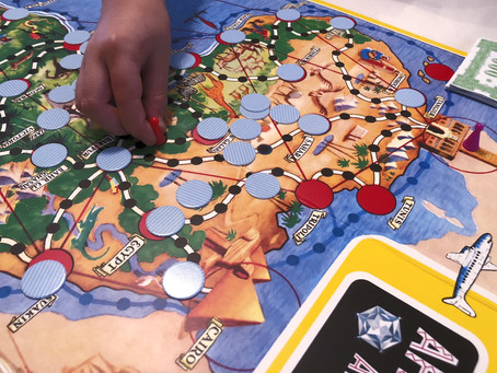 Let's visit Africa through this famous Finnish board game invention