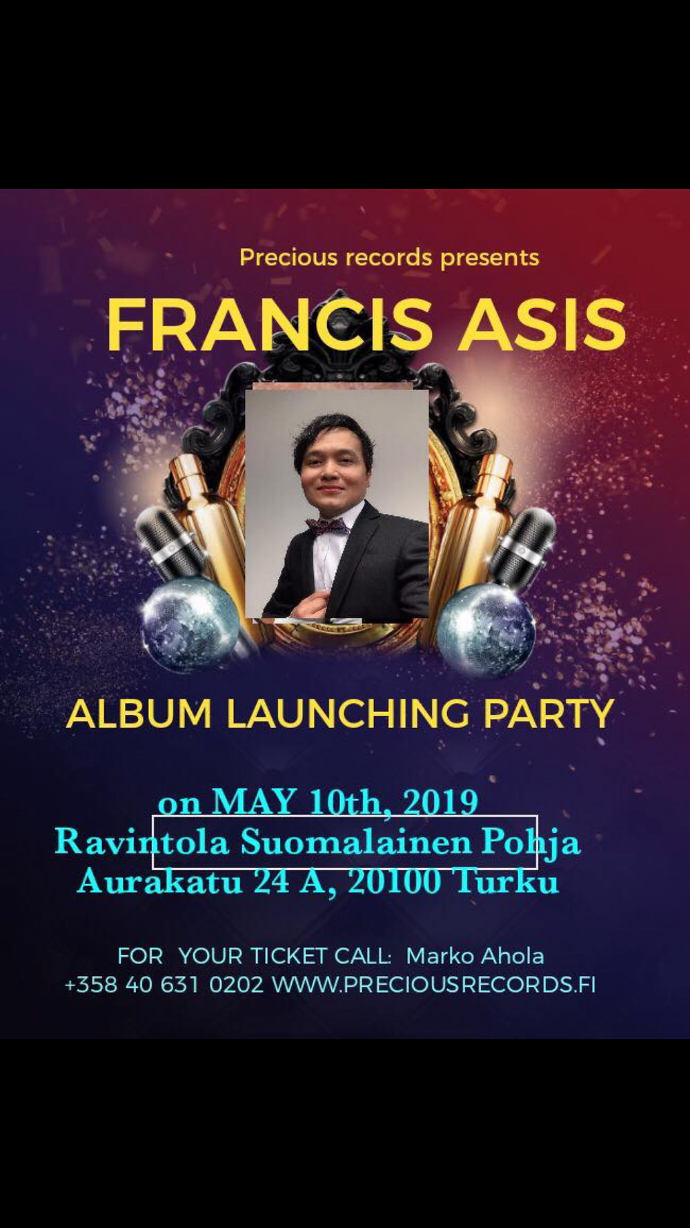 Francis Asis Album Launching Party