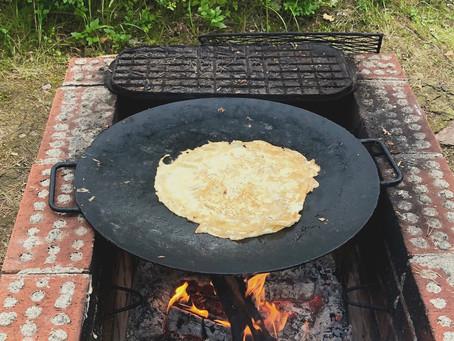 Large griddle pancake