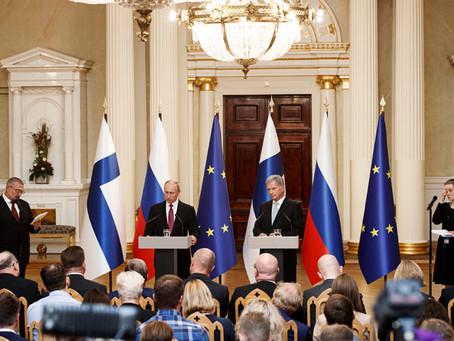 Putin meets up with Finnish President Niinistö
