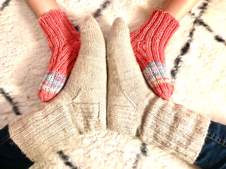 Get your feet warm with these traditional woolen socks