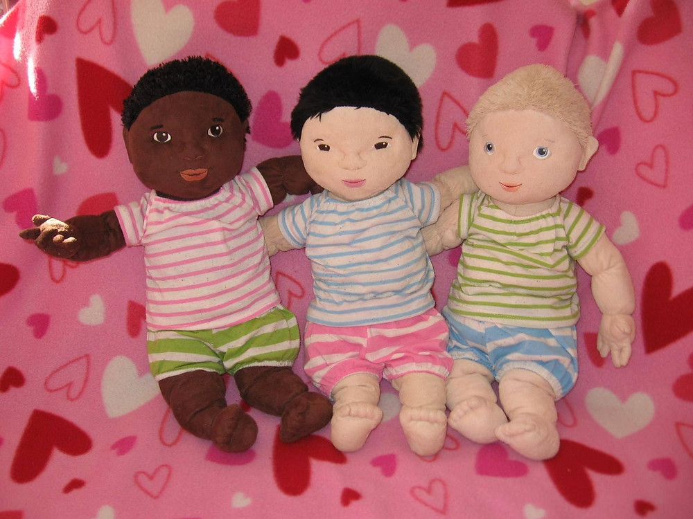 Dolls from Rautpihan Open Daycare