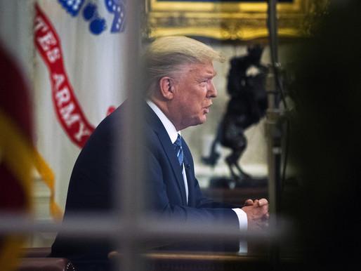 Revelan que Trump sugirió enviar a Guantánamo a quienes llegaran a EE.UU. con covid-19