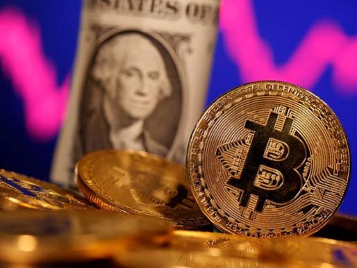 La cotización del bitcoin cae por debajo de US$30.000 por primera vez desde enero