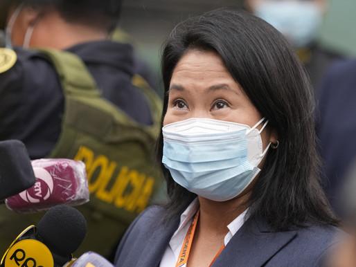 """Un juez declara """"infundado"""" el pedido de prisión preventiva contra Keiko Fujimori"""